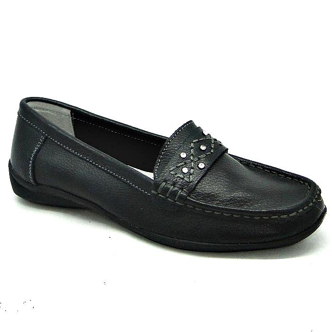 Мокасини жіночі шкіра купити на сайті взуття Городок дешево