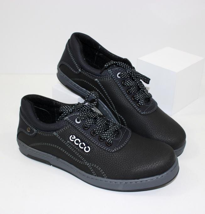 Мужские мокасины черные  из нубука на сайте обуви городок
