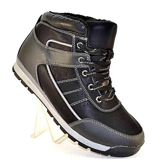 Мужские спортивные зимние ботинки артикул 9479-1 - купить зимняя обувь мужская в интернет магазине