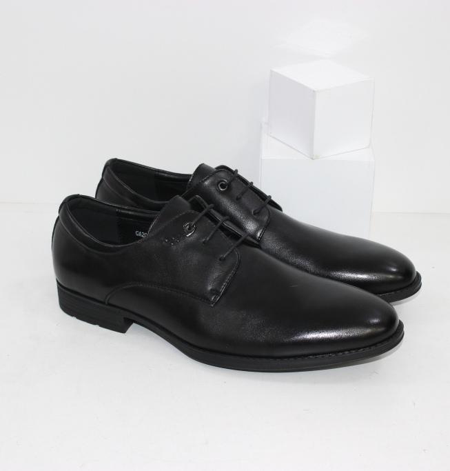 Классические чёрные мужские туфли под костюм