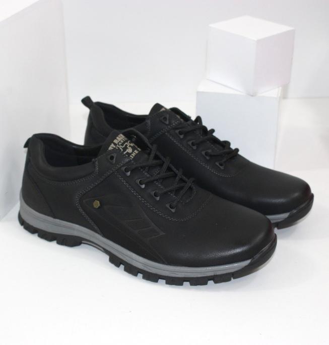Чоловічі осінні туфлі на не слизькою підошві