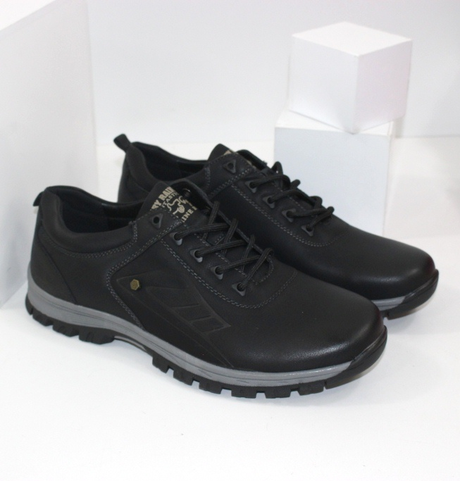 Мужские осенние туфли на не скользкой подошве