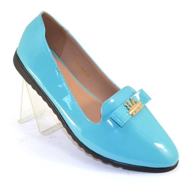 cc3d8e06b Нарядные женские туфли на плоской подошве артикул S58-3 - комфортные туфли  без каблука купить в интернете