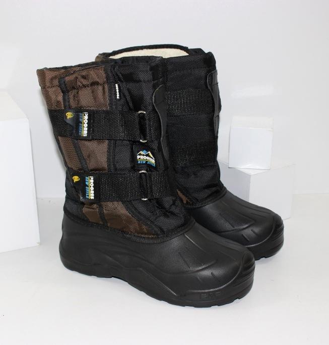Високі зимові чоботи дутики для хлопчиків підлітків