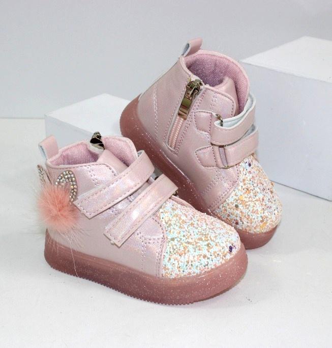 Ботинки демисезонные для девочки - модное сочетание цены и качества!