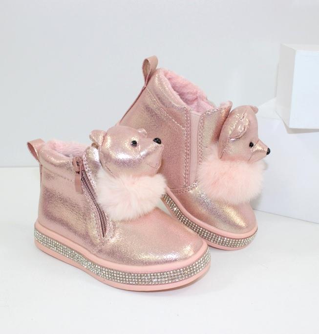 Дитячі чобітки демісезонні купити Україна для дівчинки