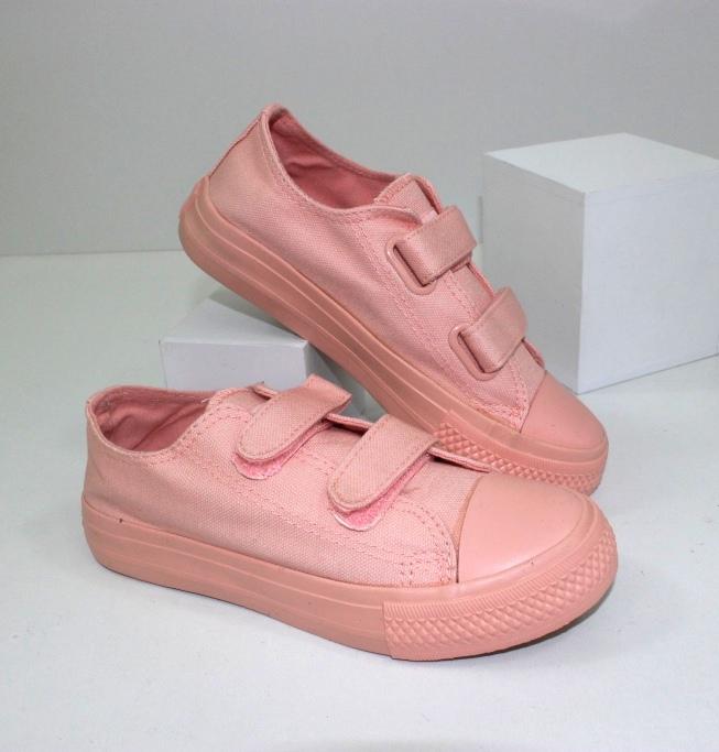 Модные пудровые кеды C9779-28 - купить в магазин кроссовки девочек по распродаже