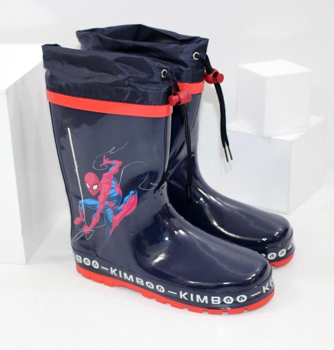Гумові чоботи для хлопчика з людиною павуком