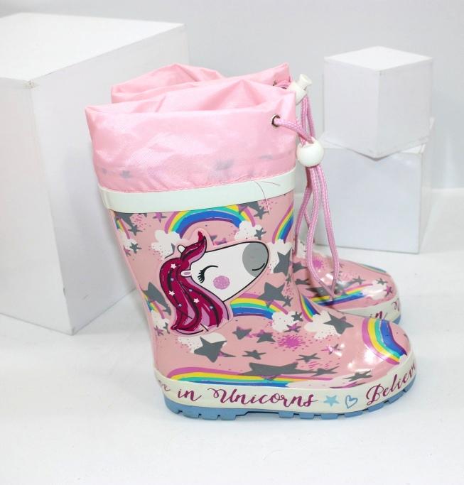 дитячі гумові чоботи для дівчинки