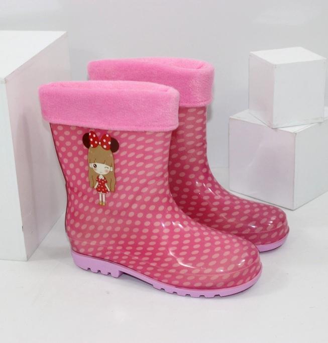 Дівчачі гумові чоботи
