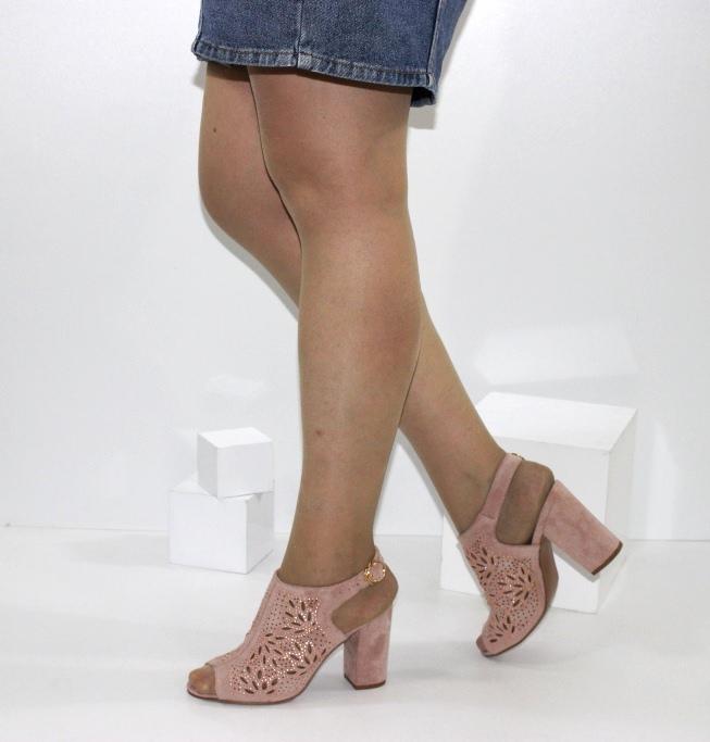 летние модельные туфли