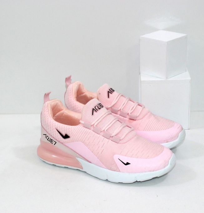 Купить недорого розовые женские кроссовки из текстиля
