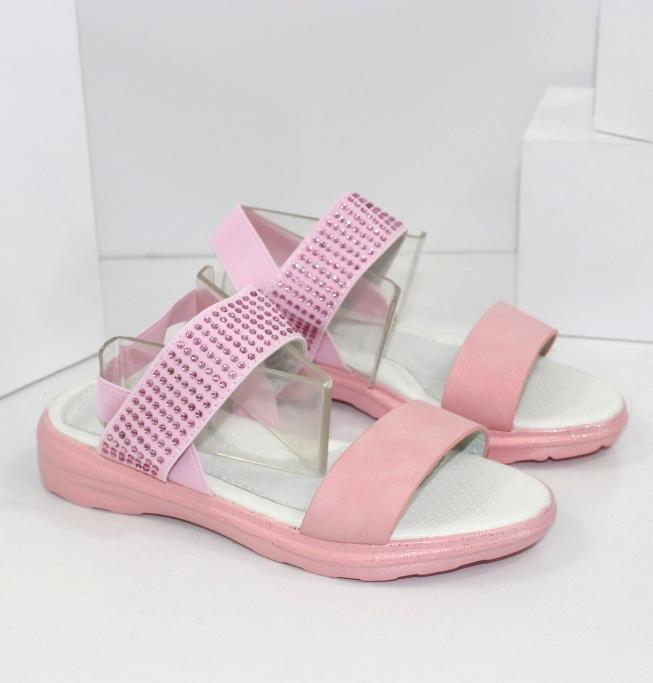 Розовые детские босоножки 500-3 - купить в детский мир обувь для девочек