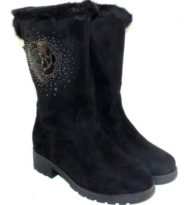 Женские сапоги зимние на каблуке дешево, зимние женские сапоги купить