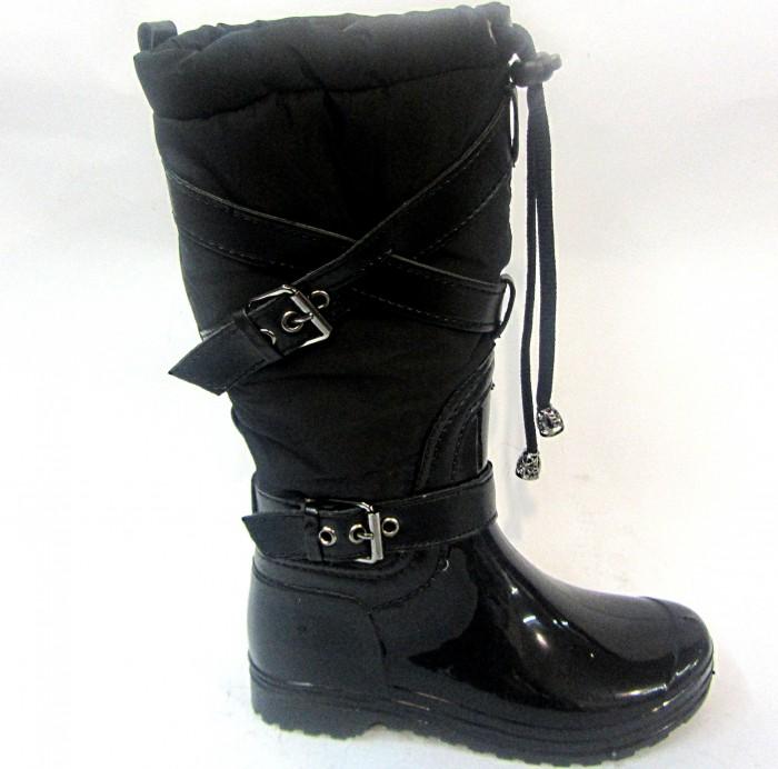 Гумові дитячі чоботи для дівчинки 008-1
