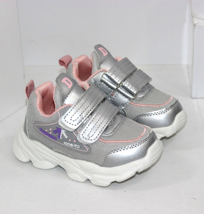 Дитячі кросівки на двох липучках