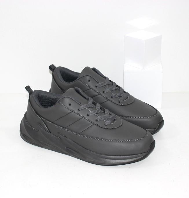 Купить мужские серые кроссовки на серой подошве