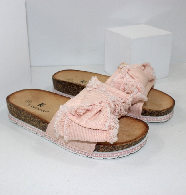 Купить летние шлепанцы женские - стильные, оригинальный новинки только на сайте обуви Городок