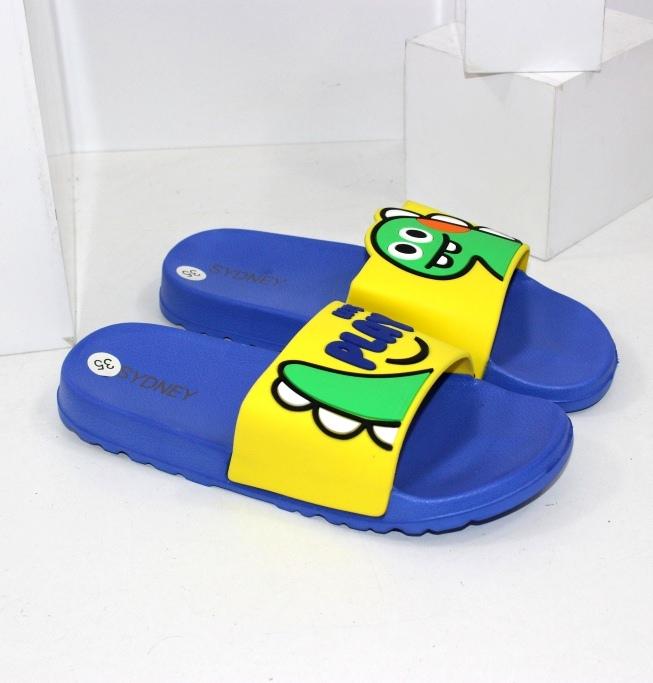 Прикольні пляжні шльопанці для хлопчиків і дівчаток
