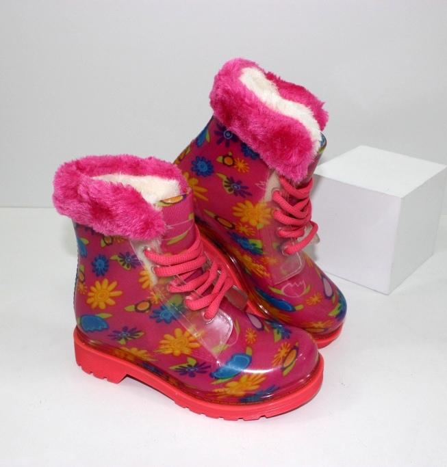 Дитячі гумові чоботи купити недорого на сайті взуття