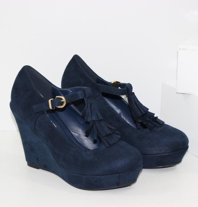 Модельные туфли на танкетке сайт обуви Городок