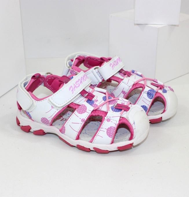 Модные детские босоножки на девочек купить в интернете на сайте обуви Городок