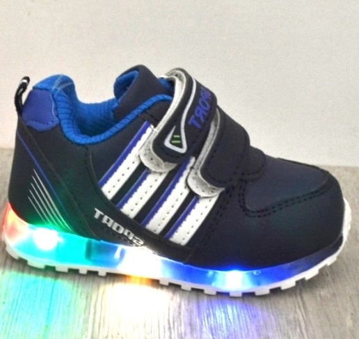 Дитячі кросівки для хлопчиків світяться купити