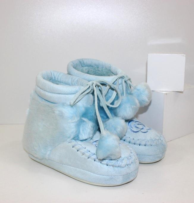 Теплые детские тапочки купить в интернет магизине обуви, цены на обувь