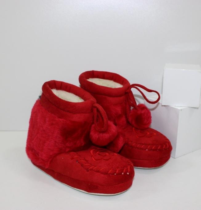 Теплые детские тапочки купить в интернет магизине обуви, магазин обуви