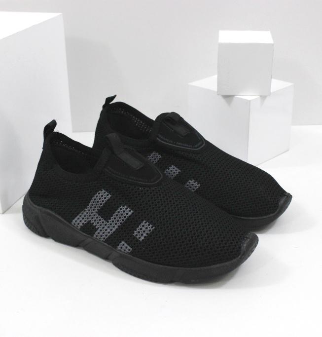 Кроссовки мужские в черном цвете на сайте обуви Городок