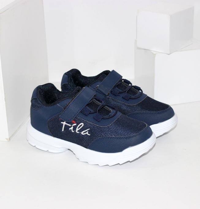 Сині для хлопчиків кросівки на весну