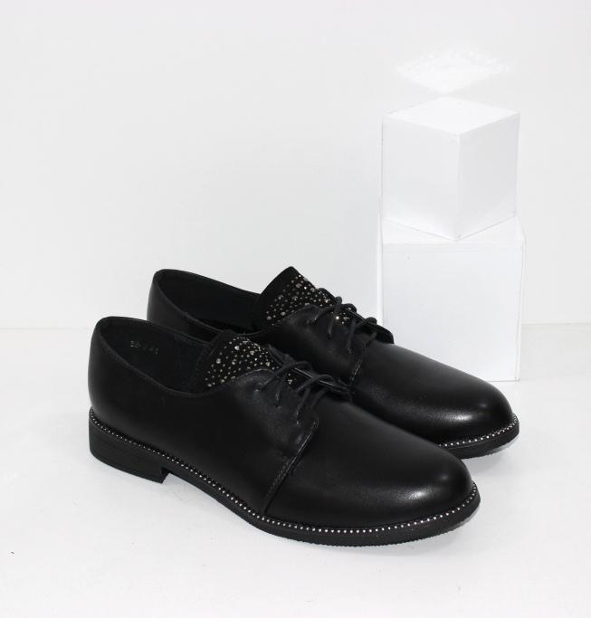 Купить недорого женские туфли дерби больших размеров 41 42 43
