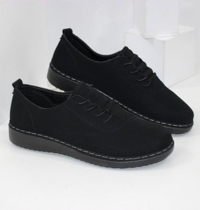 Туфлі комфортні замшеві купити
