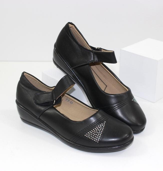 Комфортные женские туфли Jibukang-170 - комфортные туфли без каблука купить в интернете