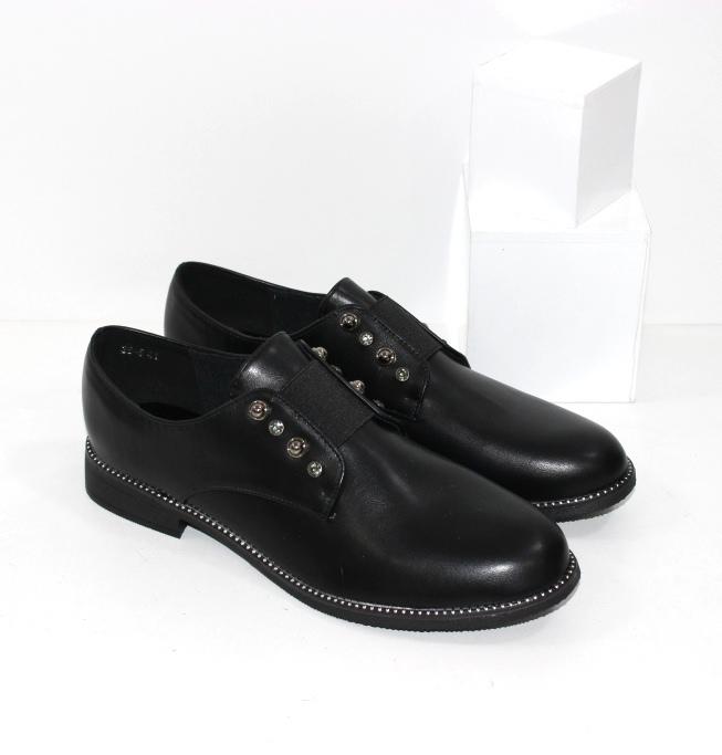 Купить недорого удобные женские туфли больших размеров на низком ходу