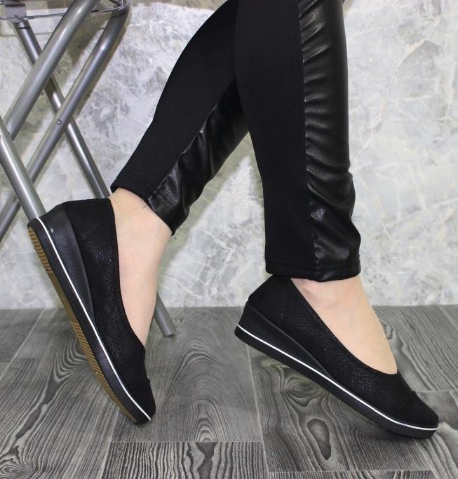 Туфлі жіночі повсякденні B2277-1-black