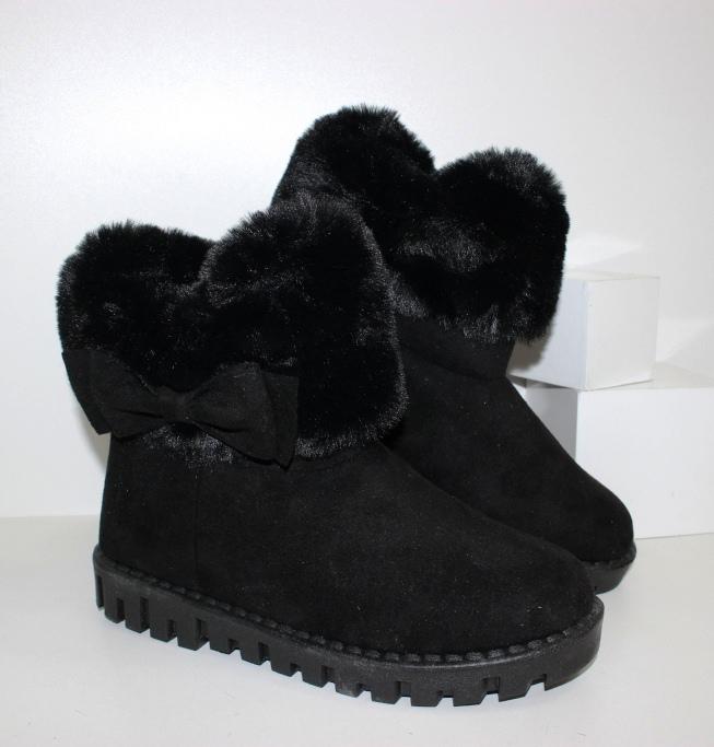 Купить УГГИ женские Aoerma FCL201-black. Женщинам - Городок
