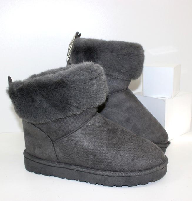 Купить УГГИ женские Stefani G16-grey. Женщинам - Городок