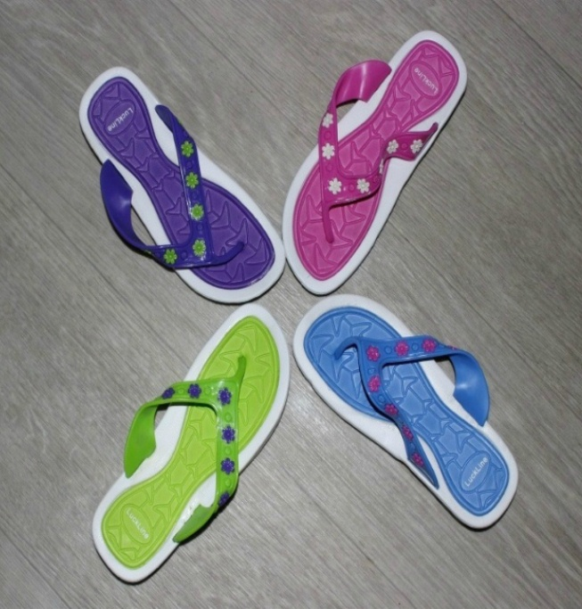 Вьетнамки для девочек 4834 микс - купить в детский мир обувь для девочек