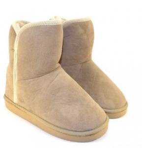 Теплые зимние угги для девочек артикул S003 серые- купить теплая детская обувь дешево