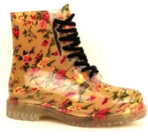Силиконовые ботинки  женские дешево в интернет магазине