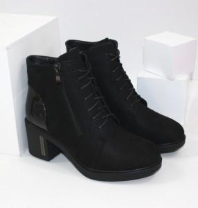 женские ботинки на среднем и высоком каблуке