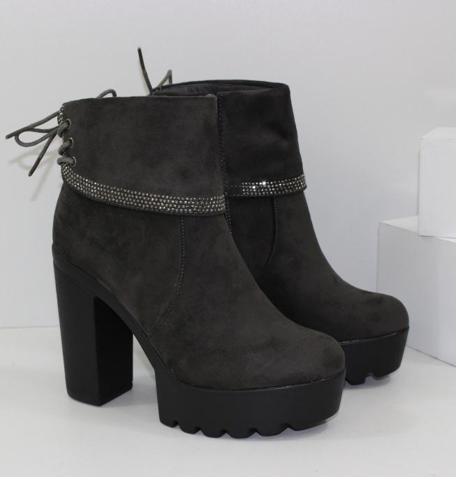 Жіночі черевики осінні S80 grey