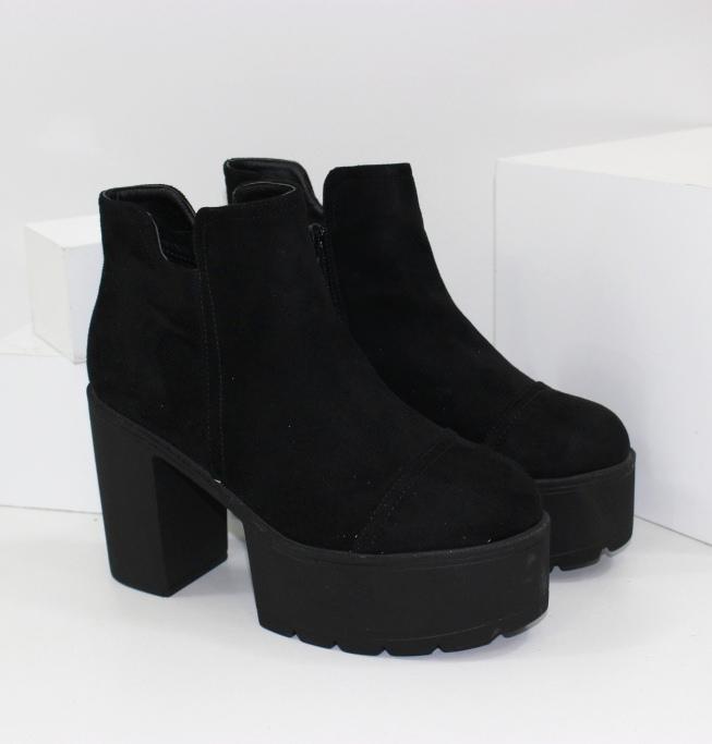 Женские ботинки на каблуке купить на сайте недорого