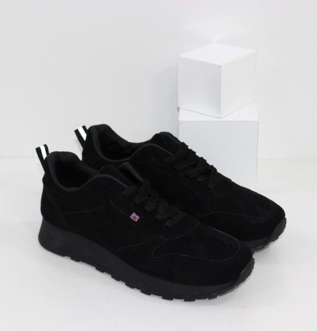 Купить черные замшевые кроссовки размер 36 37 38 39 40 41