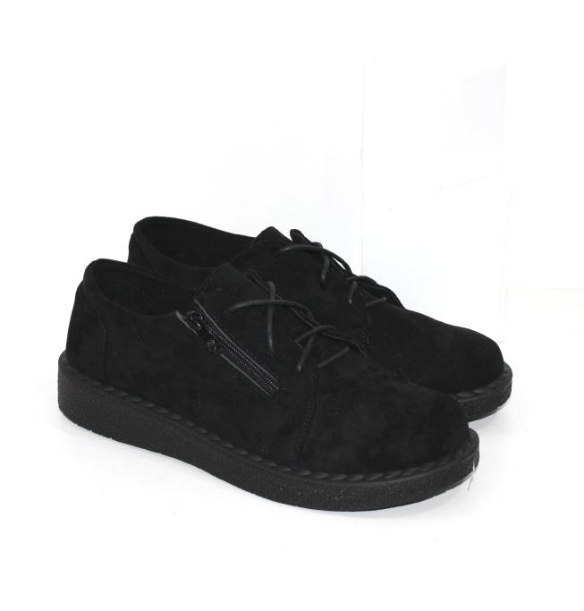 Купить женские туфли на шнурках и замочке на большие ноги размеров 41 42 43