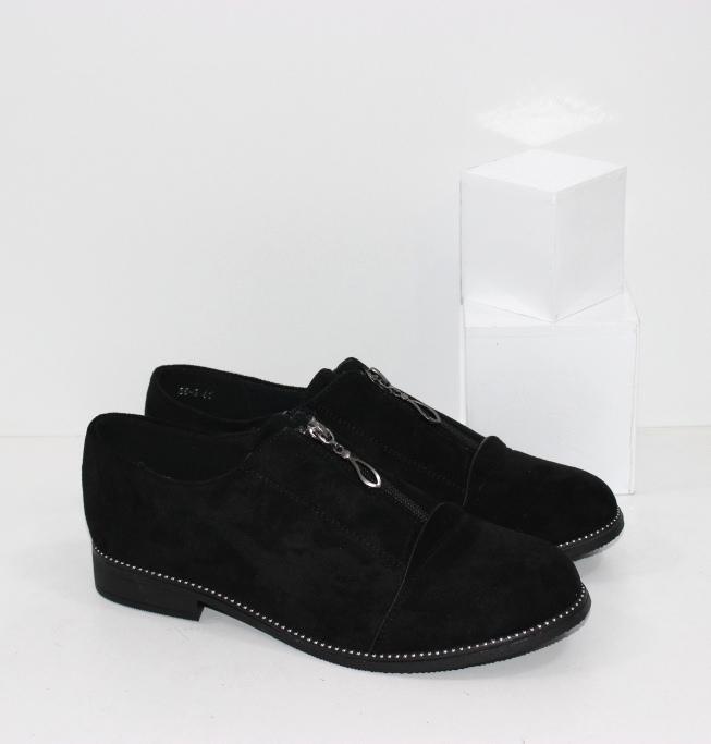 Купить женские туфли больших размеров на низком ходу