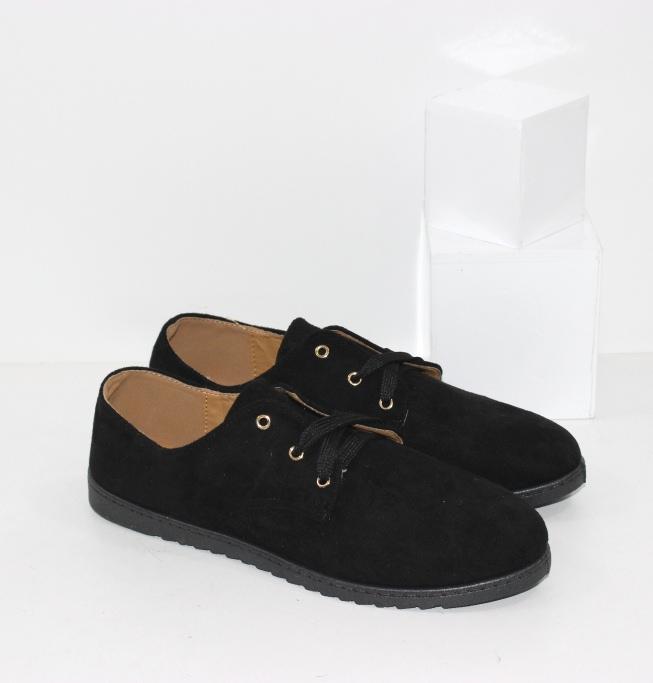 Купить женские лёгкие туфли на шнурках