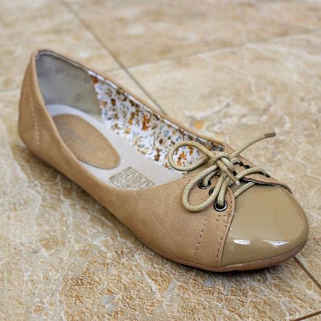 Купити жіночі туфлі без каблука на кожен день в інтернет магазині Городок