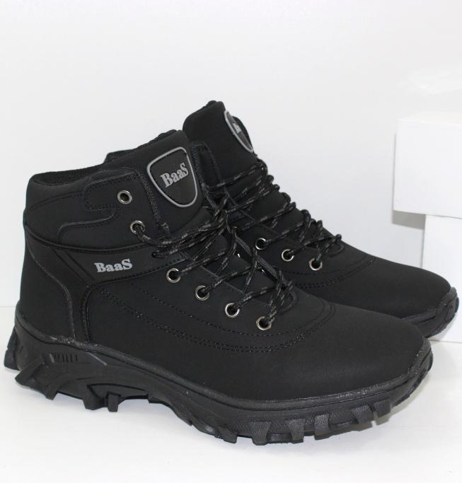 Ботинки зимние на подростка купить в черном цвете на сайте обуви городок